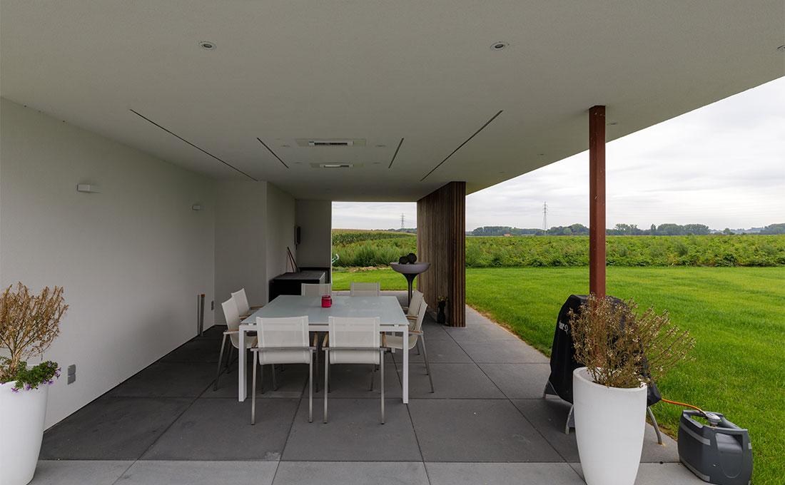 Buitenkeuken dk tuinarchitect stefaan willems green architects