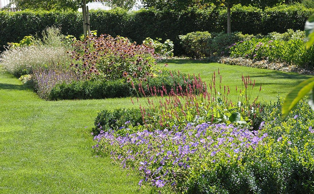 Tuinen landelijke stijl