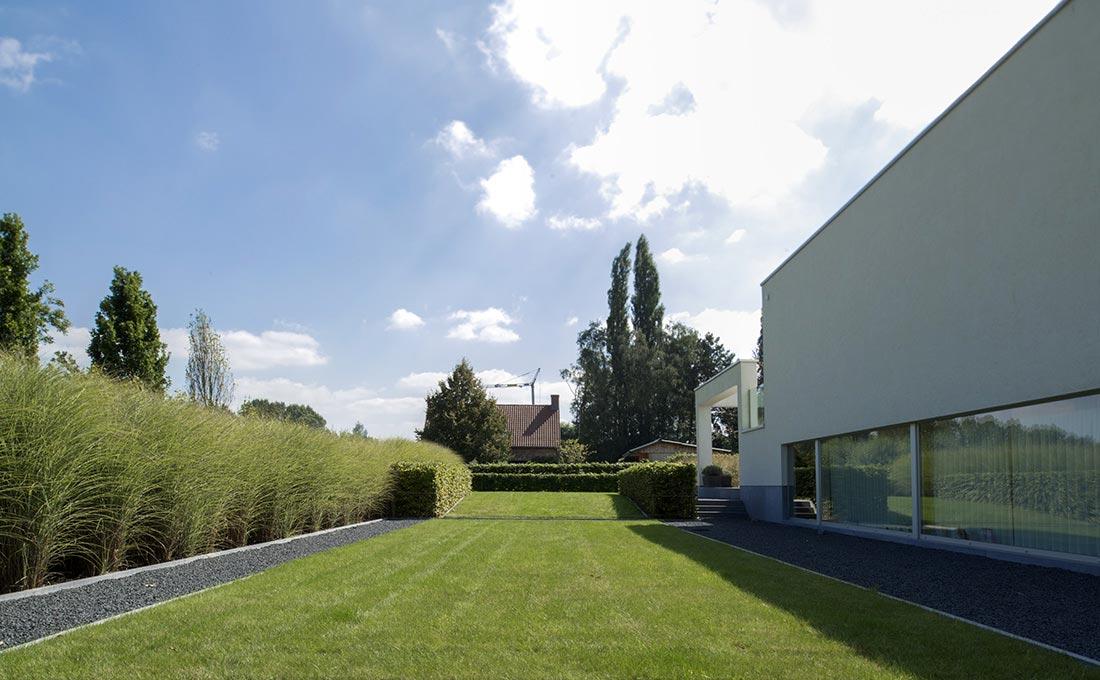 Minimalistisch ee tuinarchitect stefaan willems green architects