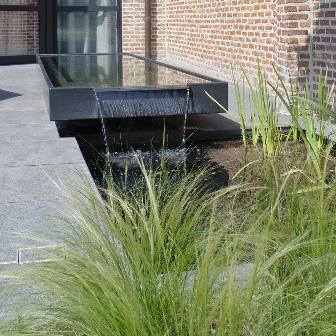 Waterpartij In De Tuin.Tuinaanleg Voorbeelden Private Tuin Hb Tuinarchitect